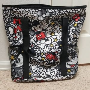 Mickey Mouse Minnie Mouse Tote Pool Bag Diaper Bag
